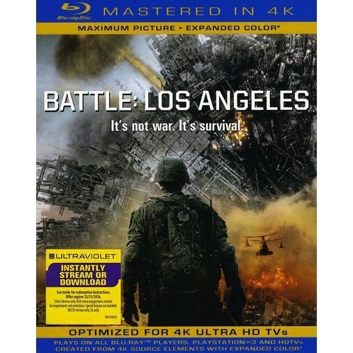 Battle: Los Angeles [Blu-ray+UV Digital Copy]