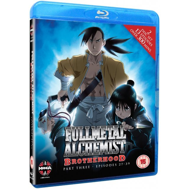 Fullmetal Alchemist Brotherhood Three (Episodes 27-39)