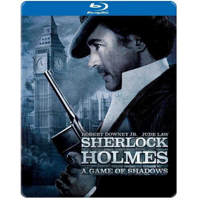Sherlock Holmes: A Game of Shadows [SteelBook]