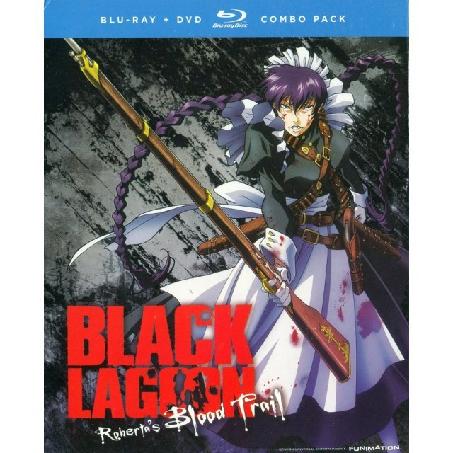 Black Lagoon: Roberta's Blood Trail [Blu-ray+DVD]