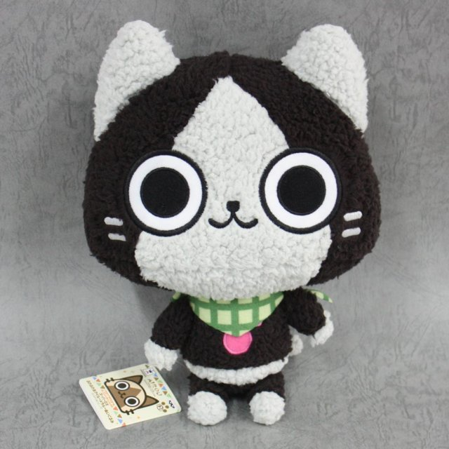 Monster Hunter Super DX Fuwafuwa na Airou Merarou Plush Doll [Merarou]