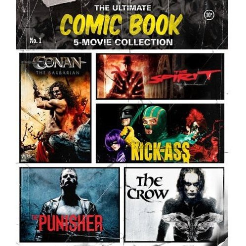 The Ultimate Comic Book 5 Movie Collection