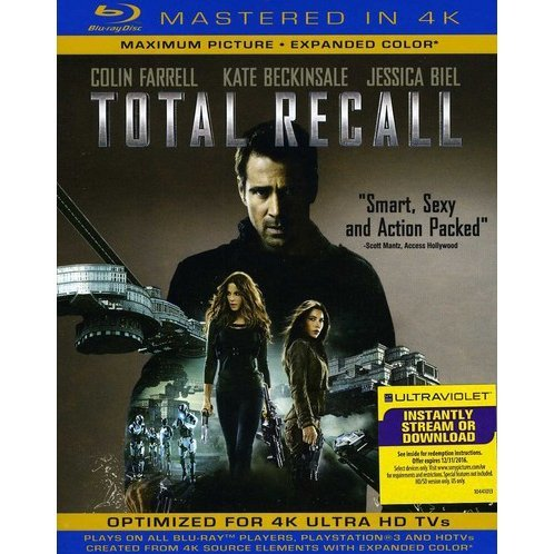 Total Recall [Blu-ray+UV Digital Copy]