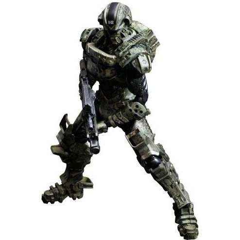 Starship Troopers Invasion Play Arts Kai Hero (Major Henry Varro)