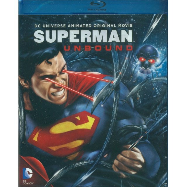Superman: Unbound [Blu-ray+DVD+UV Digital Copy]