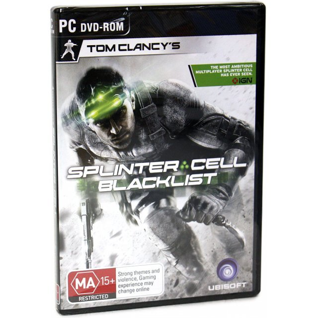 Tom Clancy's Splinter Cell: Blacklist (DVD-ROM)