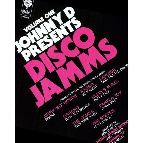 Vol. 1-Johnny D Presents Disco Jamms