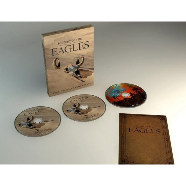 History Of The Eagles [3DVD Limited Edition]
