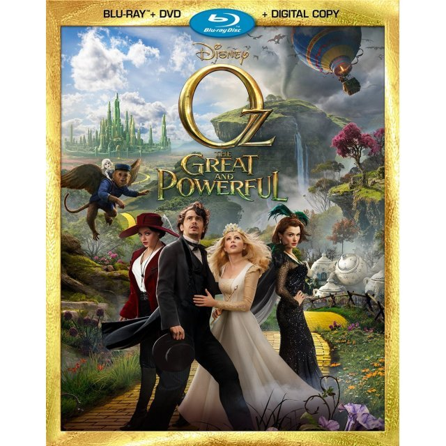 Oz the Great and Powerful [Blu-ray+DVD+Digital Copy]