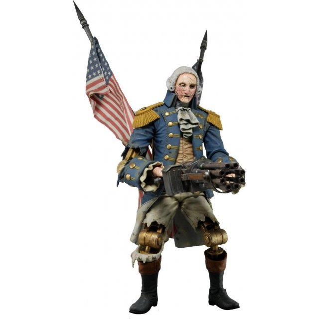 Bioshock Infinite Action Figure: George Washington Patriot Heavy Hitter