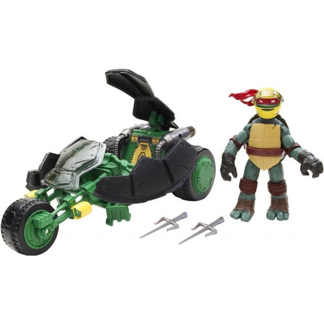 Teenage Mutant Ninja Turtles Basic: Ninja Stealth Bike with Raphael