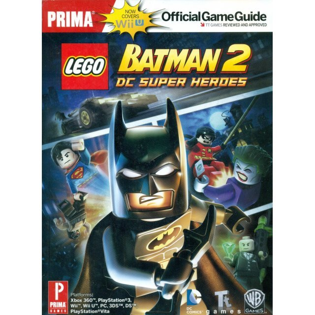 LEGO Batman 2: DC Super Heroes Official Game Guide for WiiU
