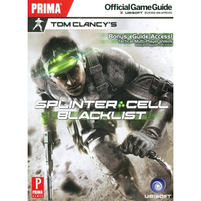 Tom Clancy's Splinter Cell Blacklist Official Game Guide