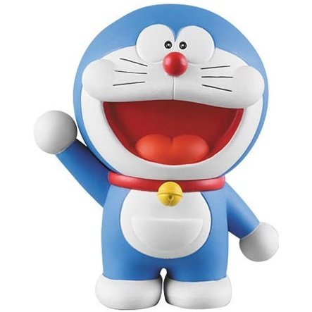 Doraemon Utra Detail Figure Pre-Painted PVC: Doraemon (Re-run)