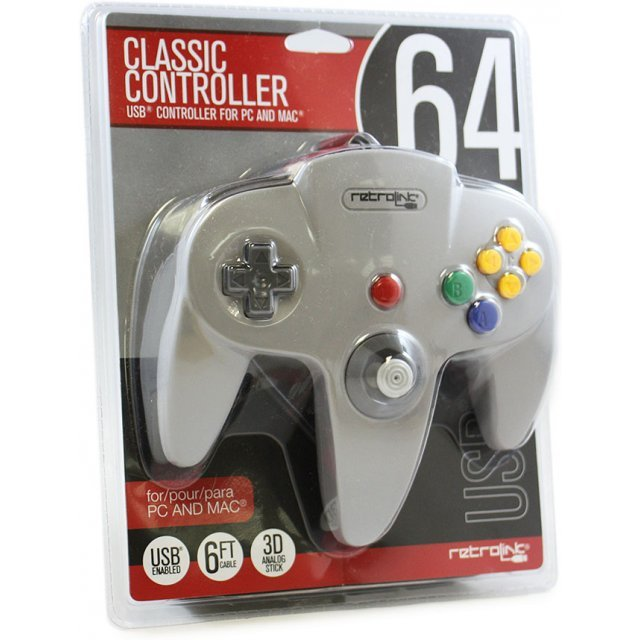 Retrolink Classic Controller N64 Style USB Controller