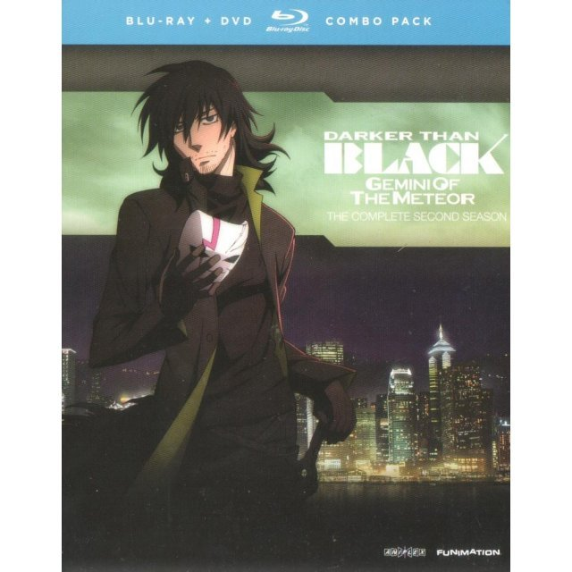 Darker Than Black: The Gemini of the Meteor - The Complete Second Season [Blu-ray+DVD]