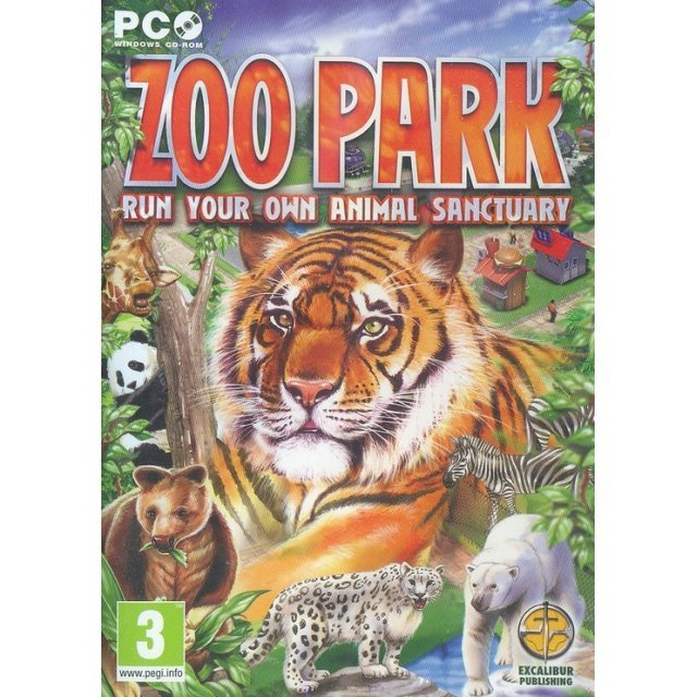 Zoo Park: Run Your Own Animal Sanctuary (DVD-ROM)