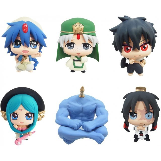 Color Collection Magi A Non Scale Pre-Painted Trading Figure