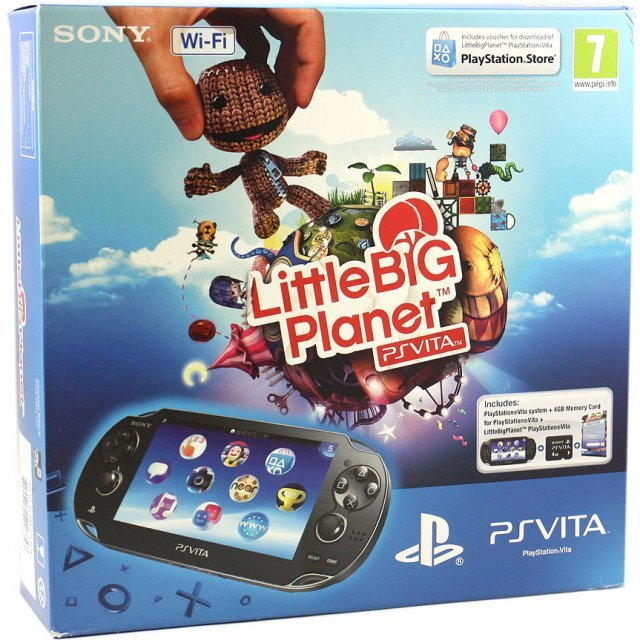 PS Vita PlayStation Vita - LittleBigPlanet Wi-Fi Model (Black)
