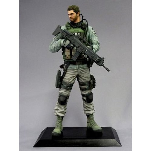 Capcom Figure Builder Creaters Model Resident Evil 6 Pre-Painted PVC Figure: Chris Redfield