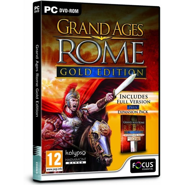 Grand Ages: Rome - Gold Edition (DVD-ROM)