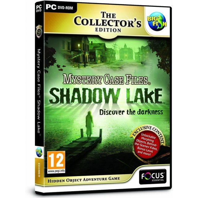 Mystery Case Files: Shadow Lake (Collector's Edition) (DVD-ROM)