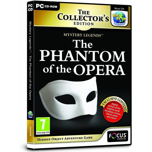 Mystery Legends: The Phantom of the Opera (Collector's Edition)