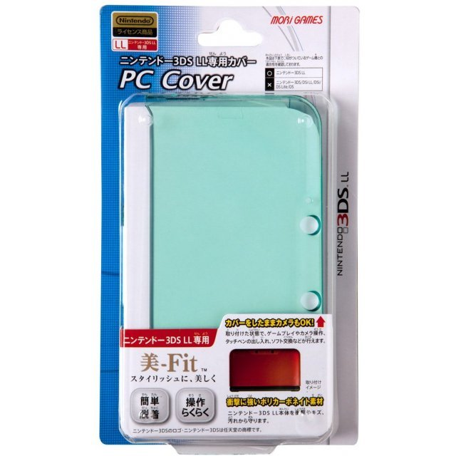 PC Cover for 3DS LL (Clear Mint)