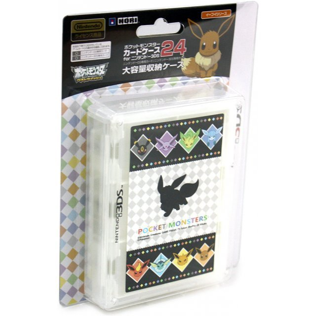 Pokemon Card Case 24 for 3DS (Eievui Series Version)