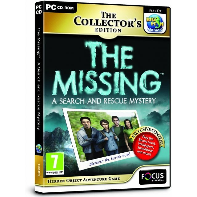 The Missing: A Search and Rescue Mystery (Collector's Edition)