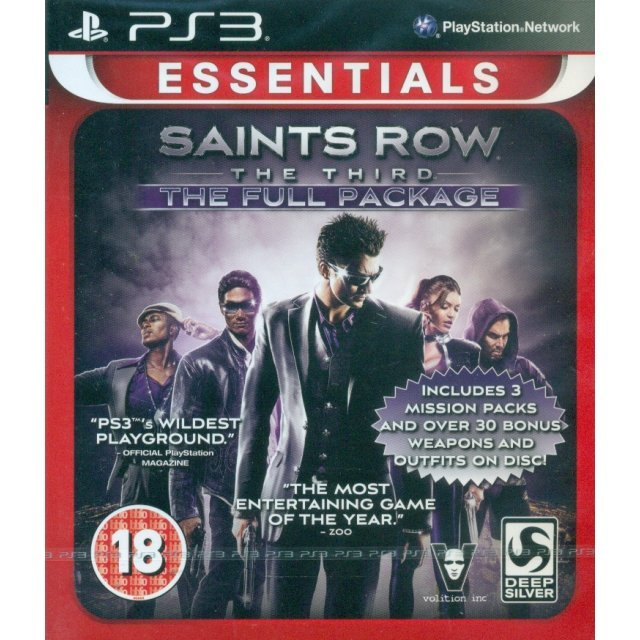 Saints Row: The Third (The Full Package) (Essentials)