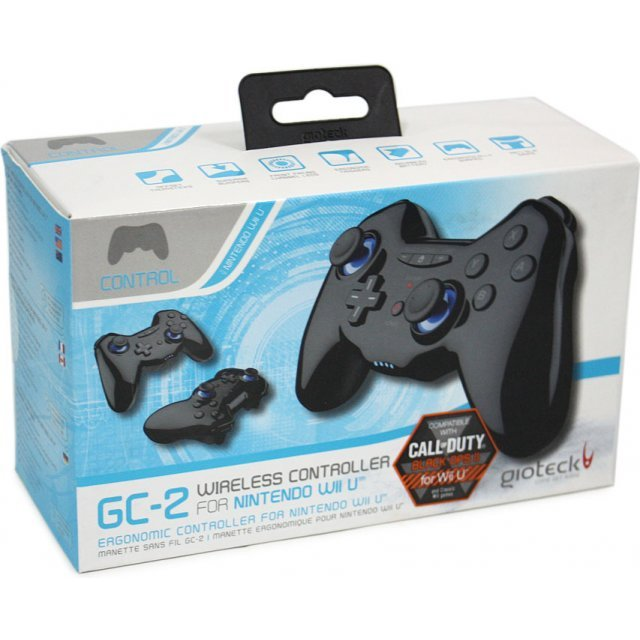 Gioteck GC-2 Wireless Controller (Black)