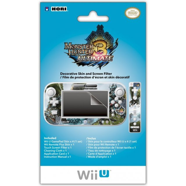 Monster Hunter 3 Ultimate Edition Decorative Skin and Screen Filter