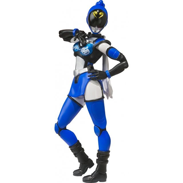 S.H.Figuarts Unofficial Sentai Akibaranger Season Two Non Scale Pre-Painted PVC Figure: Akiba Blue Seasons Two Ver.