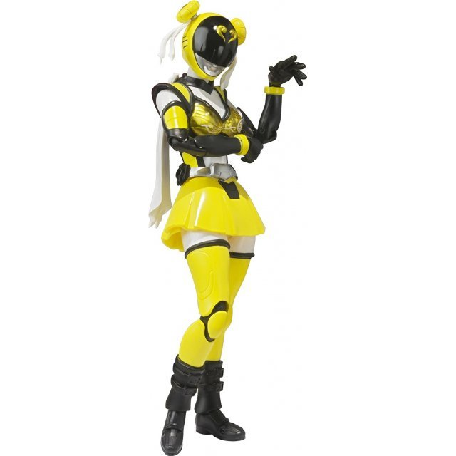 S.H.Figuarts Unofficial Sentai Akibaranger Season Two Non Scale Pre-Painted PVC Figure: Akiba Yellow Seasons Two Ver.