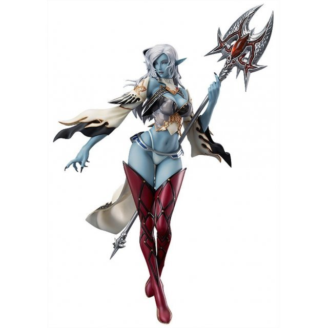 Lineage II 1/7 Scale Pre-Painted PVC Figure: Dark Elf