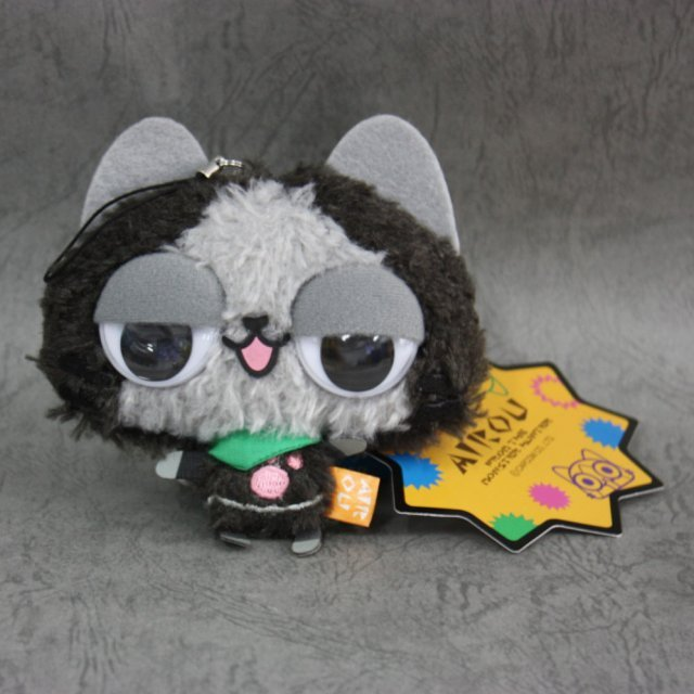 Capcom Monster Hunter Airou Kyoro-Kyoro Mascot Key Ring: Melaleu