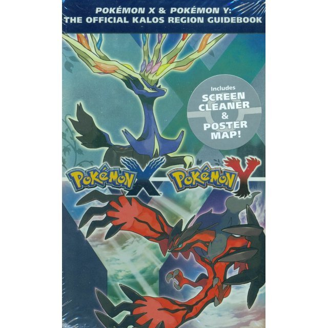 Pokemon X and Pokemon Y: The Official Kalos Region Guidebook (Hardcover)
