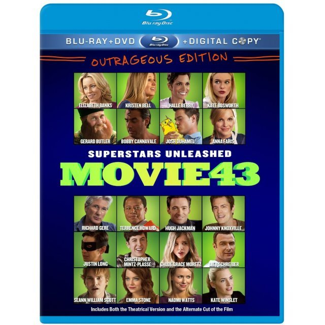 Movie 43 [Blu-ray+DVD+UltraViolet]