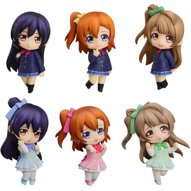 Nendoroid Petite Love Live! Non Scale Pre-Painted Figure Set: Love Live!