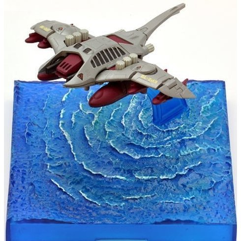 Zoids HMM 1/144 Scale Pre-Painted Plastic Model Kit: MSS MZ006 Zoids EMZ-19 Sinker