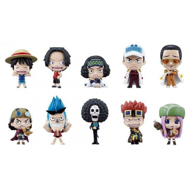 One Piece Deformeister Petit Vol.3 Non Scale Pre-Painted Trading Figure (Re-run)