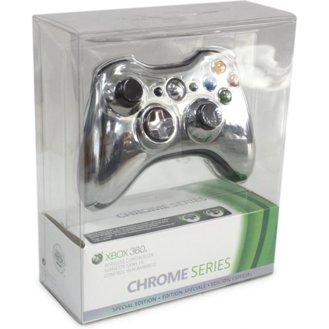 Xbox 360 Wireless Controller (Chrome Silver)