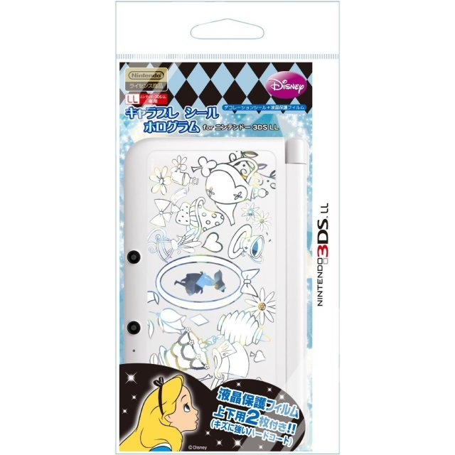 Chara Pure Hologram Seal for 3DS LL (Alice)