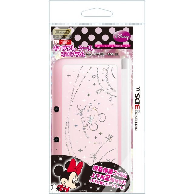 Chara Pure Hologram Seal for 3DS LL (Minnie)