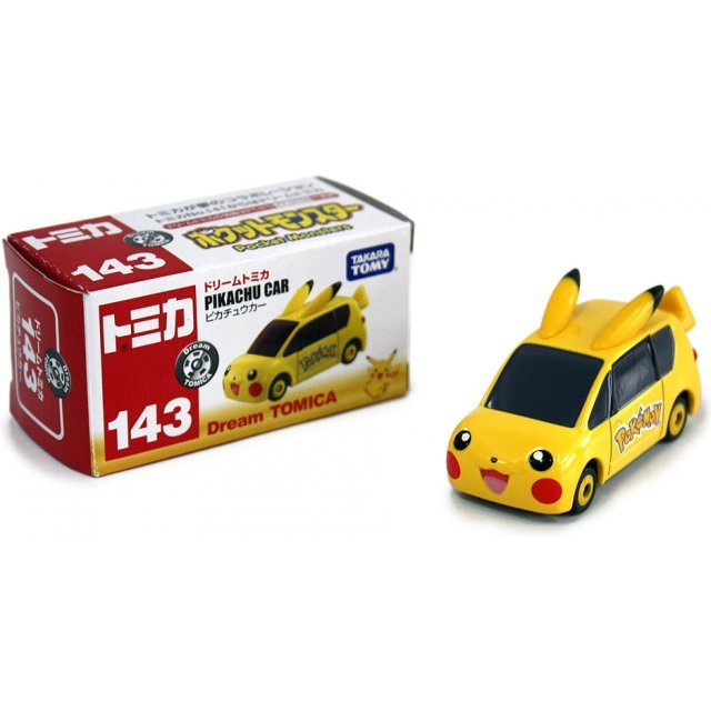Dream Tomica No.143 Pocket Monsters Pikachu Car