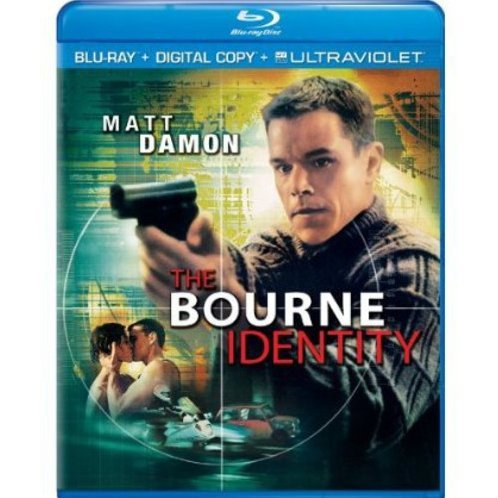 The Bourne Identity [Blu-ray+Digital Copy+UltraViolet]