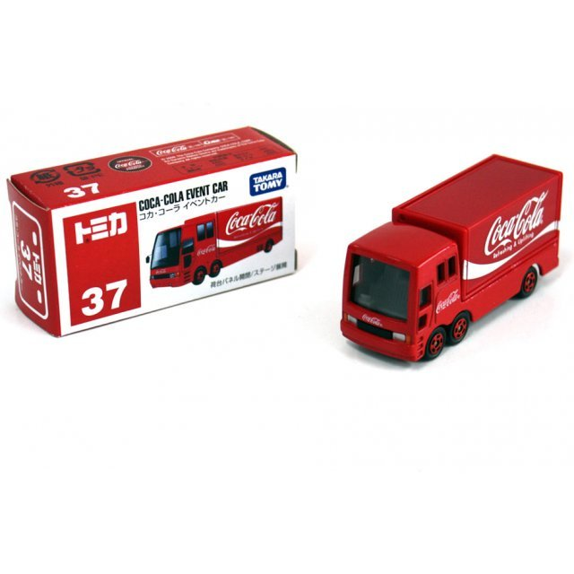Tomica No.37 - Coca-Cola Event Car