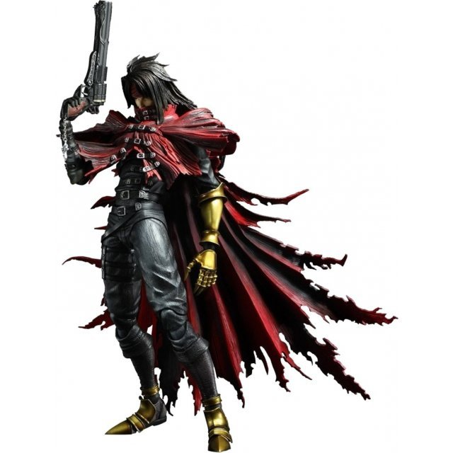 Final Fantasy VII Advent Children Play Arts Kai Non Scale Pre-Painted Figure: Vincent Valentine