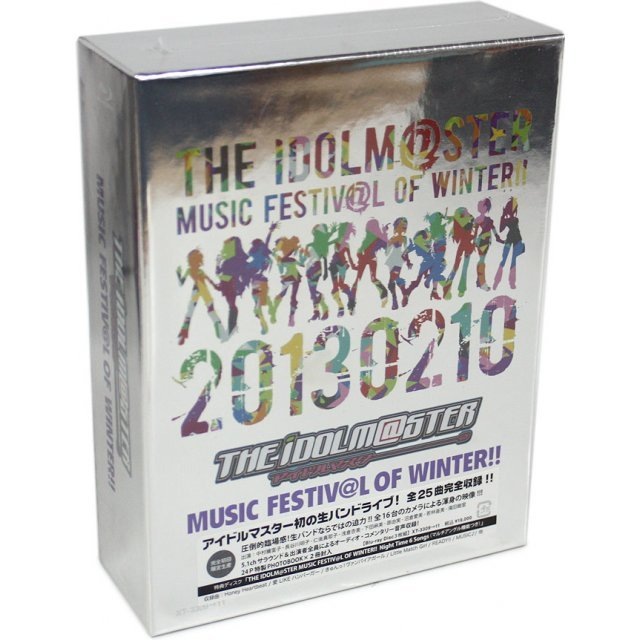 Idolm@ster / Idolmaster Music Festiv@l Of Winter Blu-ray Box [Limited Edition]